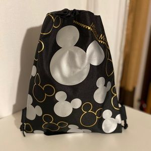 Disney Mickey Mouse Draw String Bag/Backpack